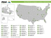FSE Map - North America