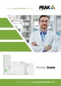 Peak Scientific 2020 Pocket Guide