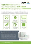 Precision - Sales One sheet (German)