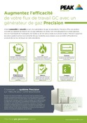 Precision - Sales One sheet (French)