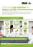 Waters Sales One Sheet/Flyer