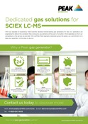Sciex Sales One Sheet/Flyer