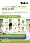 Sciex Sales One Sheet/Flyer