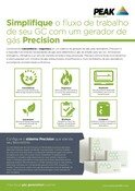 Precision - Sales One Sheet (Portuguese)