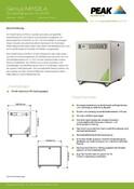 Genius NM32LA - Data Sheet (German)