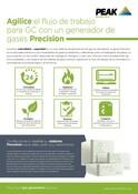 Precision - Sales One sheet (Spanish)