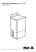 06-3200 Dual Tap Transformer - Installation Guide