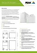 Genius XE Nitrogen - Data Sheet (German)