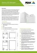 Genius XE Nitrogen - Data Sheet (French)