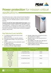 Power Protection - Brochure (North America)