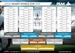 Peak Scientific Rugby World Cup 2019 Wall Chart