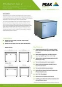 MS Bench SCI 2 - Data Sheet