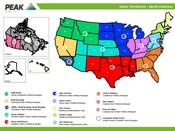 NA Sales Territories