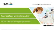 Lab Gas Safety & Choosing the Right Generator - Europe