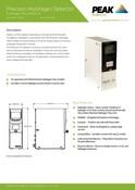 Precision Hydrogen Detector - Data Sheet