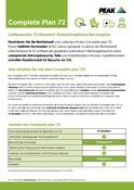Peak Warranty Plans 2021 - Complete Plan 72 (German)