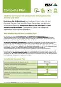 Peak Warranty Plans 2021 - Complete Plan (German)