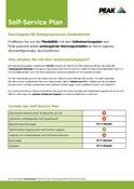 Peak Warranty Plans 2021 - Self Service Plan (German)