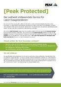 Peak Warranty Plans 2021 - About (German)