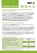 Peak Warranty Plans 2021 - Complete Plan 24 (German)