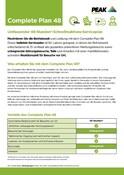 Peak Warranty Plans 2021 - Complete Plan 48 (German)