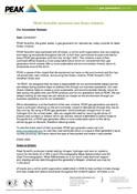 Green Initiative Press Release