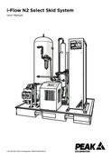 i-Flow N2 Select Skid System - User Manual
