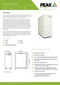 Infinity XE 60 - Data Sheet (French)