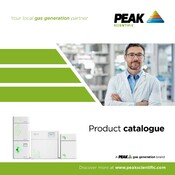 Peak Scientific 2017/18 Full Line Catalogue