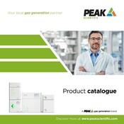 Peak Scientific 2018/2019 Full Line Catalogue