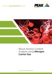 App note-Blood Alcohol Content Analysis using Nitrogen Carrier Gas